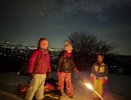 Wichtel Rodel Spaß im/ins neue/n Jahr